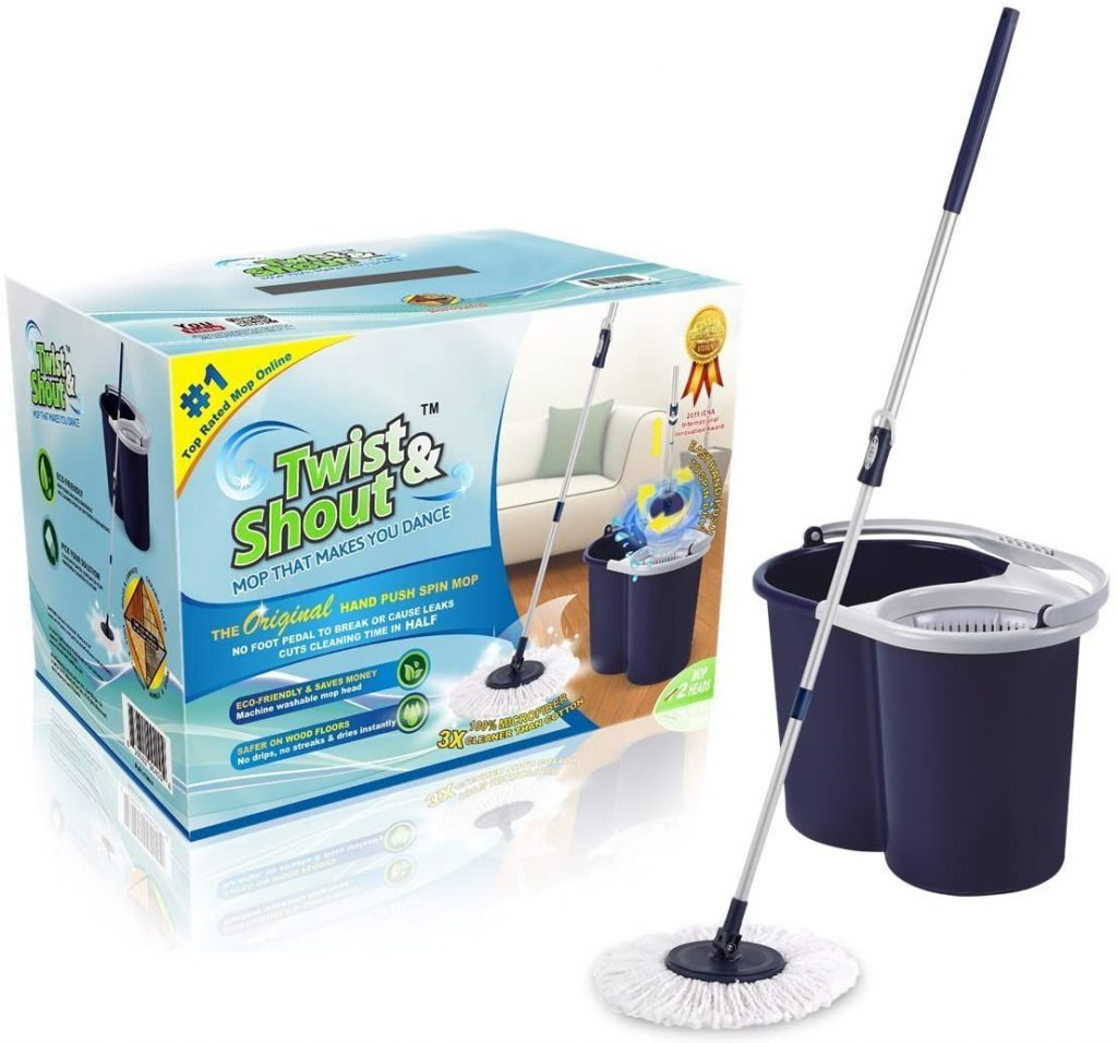 Twist and Shout Spin Mop
